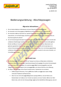 Instrukcja-autolaweta-DE